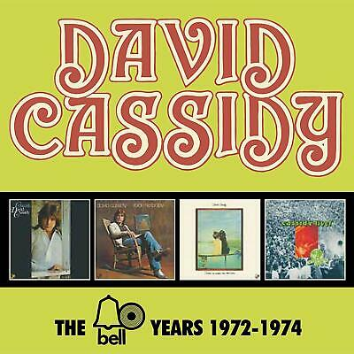 DAVID CASSIDY 'THE BELL YEARS 1972-1974' 4 CD Box Set (27th Sept. 2019)