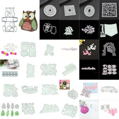 Cute Bear Cutting Dies Stencil Embossing Scrabooking Christmas Card Paper Craft