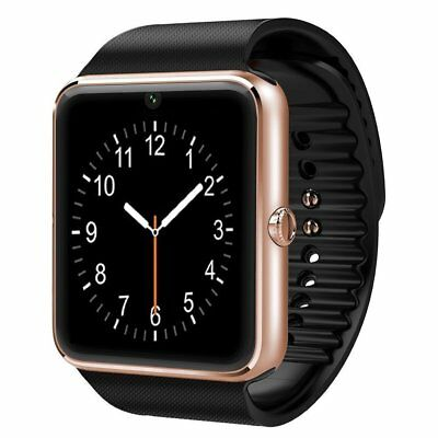 Rose Gold Bluetooth Smart Watch with Camera for Samsung Galaxy Note10 / Note10 +