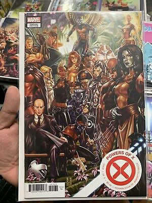 Powers Of X #1 Mark Brooks Connecting Variant Hickman X-Men Near Mint