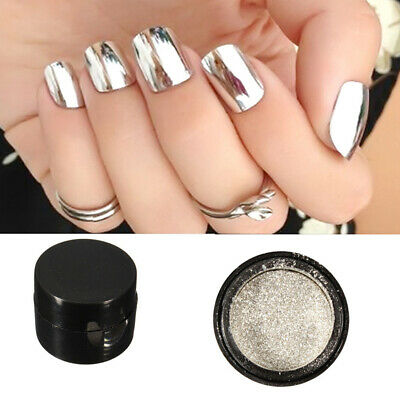 Mirror Effect Nail Glitter Powder Colorful Nail Art Chrome Pigment Makeup Tool