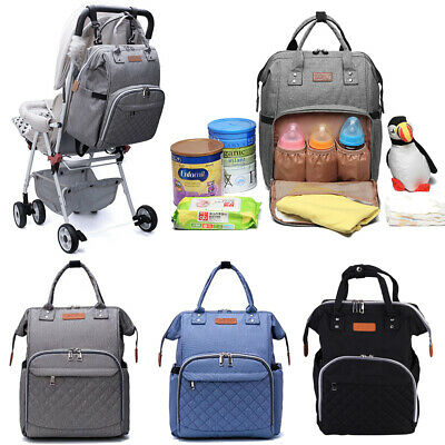 Multi-Function  Nappy Yummy Mummy Changing Maternity Baby Bag Backpack Diaper