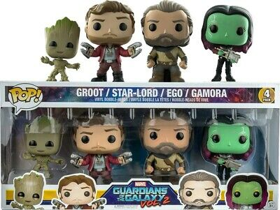 Guardians of the Galaxy: Groot/Star-Lord/Ego/Gamora 4PK FUNKO POP VINYL FIGURE