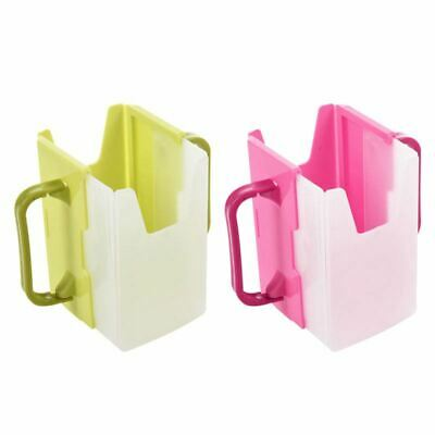 Baby Child Universal Juice Pouch Milk Box Holder Cup Toddler Self-Helper O4K5