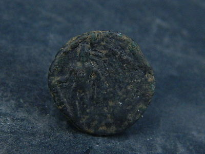 Ancient Bronze Coin Bactrian 100 BC #BR206