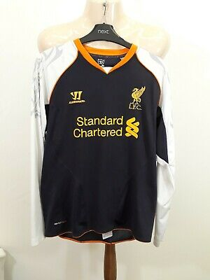 Warrior Liverpool 3rd Kit 2012-2013 - Size XL Boys - Long Sleeve - Purple White