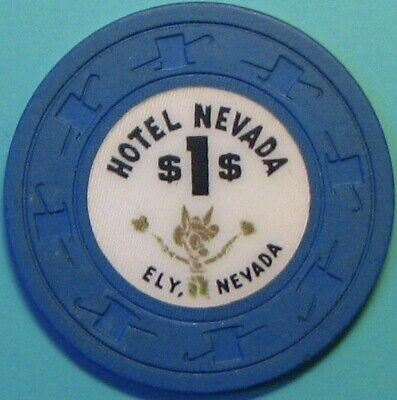 $1 Casino chip, Hotel Nevada, Ely, NV. N31.