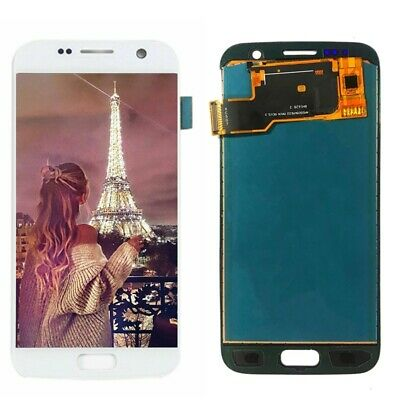 For Samsung Galaxy S7 SM-G930F LCD Display Touch Screen Digitizer Assembly White