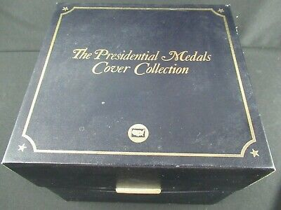 The Presidential Medals Cover Collection Washington - Reagan - 24Kt Gold Plated