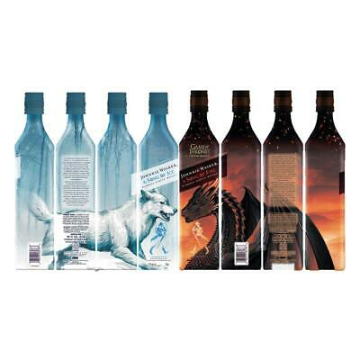 Johnnie Walker A Song of Fire & Ice 8er Motiv-Set Whisky Game of Thrones 8x700ml