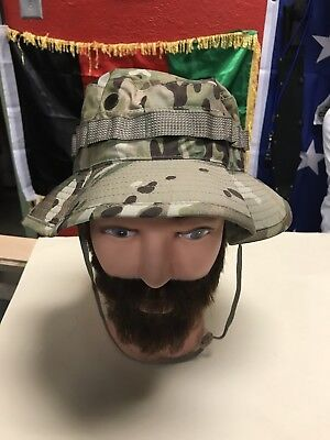 NEW US ARMY BOONIE COVER HAT MULTICAM Seal TYPE VI  SIZE 7 1/2 New With Tags