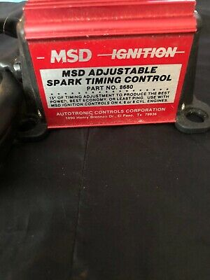 MSD IGNITION 8680 Adjustable Timing Control for MSD Ignition