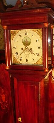 "Antique  "" Jersey ""   Automation  Windmill   Longcase / Grandfather Clock"