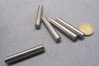 """18-8 Stainless Steel Dowel Pins 3/8"""" Dia x 2 1/4"""" Length, 5 Pcs"""