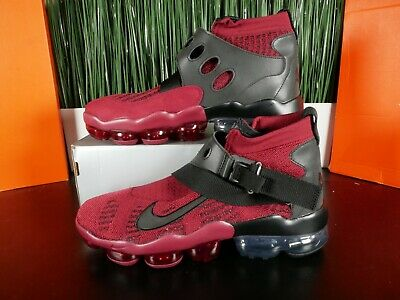 Nike Air Vapormax Premier Flyknit Red Black Mens Shoes AO3241-600 Size 9-13