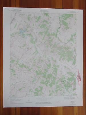 Maceo Kentucky 1970 Original Vintage USGS Topo Map