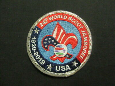 2019 World Jamboree US Contingent Pocket Patch     JF2