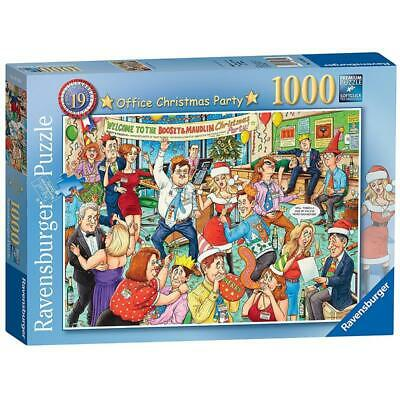 NEW Ravensburger - Office Christmas Party 1000pc Jigsaw Puzzle