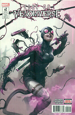 Edge Of Venomverse #2 Gwenpool Venom Variant A Spider-Man 1st Print NM/M 2017