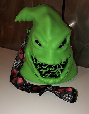 Disney Parks WDW Oogie Boogie Light-Up Popcorn Bucket-NEW