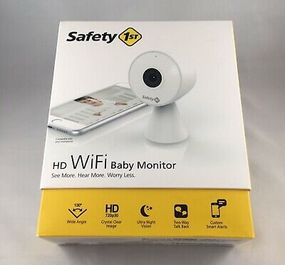 Safety 1st  HD WIFI Baby Monitor Movement Detection, Wireless HD Streaming MO160