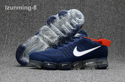 NIKE AIR VAPORMAX Air Max 2018V Men's Running Trainers Shoes Blue Free Shipping