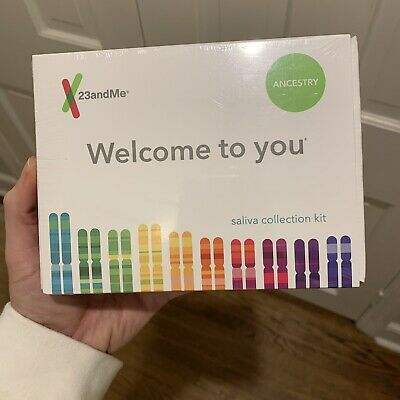 New 23andMe DNA Test Ancestry Personal Genetic Service PrePaid Geographic 2021+