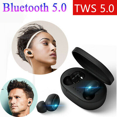 Handsfree  TWS Earphone Wireless Earbuds Xiaomi Redmi Airdots Bluetooth 5.0