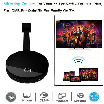 G4 Media Streamer Support Data WIFI For YouTube Online For Android For IOS To TV