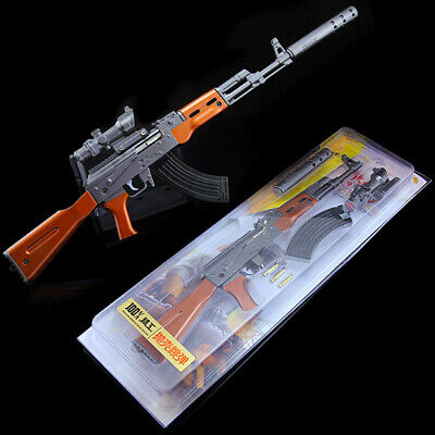PUBG AKM ASSAULT rifle AK47 Guns Model Key Ring Keychain War