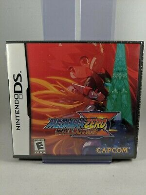 MEGA MAN ZERO COLLECTION ⚡ 🤖  Nintendo DS NDS ✨ NEW Factory Sealed ✨