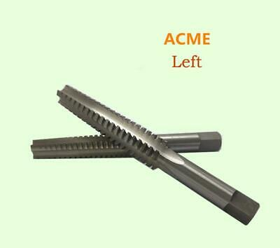 1PCS  ACME 3/4-6 HSS Left Hand ACME Thread tap Threading Tool