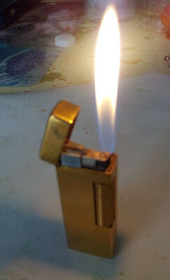 Accendino accendisigari lighter Dunhill dorato golden good conditions