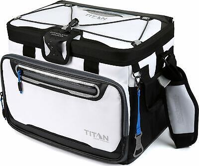 Arctic Zone Titan Cooler Bag 30 Can Insulated Ziperless Carry Box *NEW* White