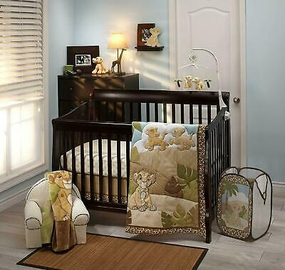 Disney The Lion King Baby Cot Set Quilt Sheet Wall Picture Simba Jungle *NEW*