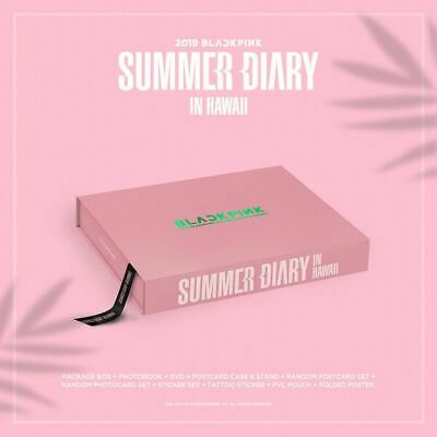 2019 BLACKPINK'S SUMMER DIARY [IN HAWAII] Box packing+Tracking Number
