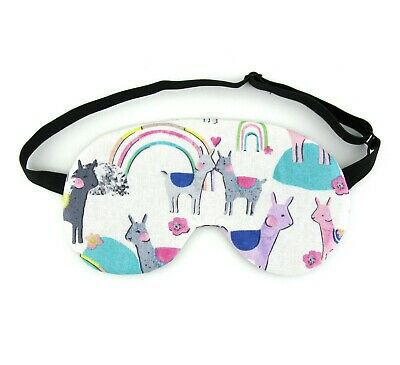 SLEEP MASK CACTI Llama Pink Eye Mask - £4 99 | PicClick UK
