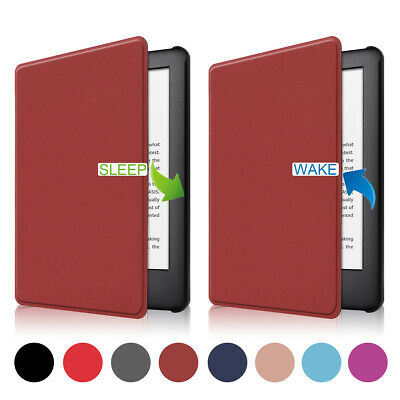 For Amazon All New Kindle 2019 10th Gen Magnetic Leather Smart Cover Tablet Case