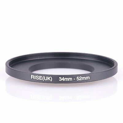 uxcell Replacement 34mm-46mm Camera Metal Filter Step Up Ring Adapter