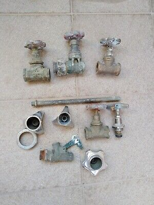 Vintage Water Valves and Accessories Retro Collectible
