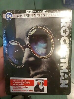 Rocketman (4K UHD + Blu-ray discs, 2019) Best Buy Steelbook brand new sealed