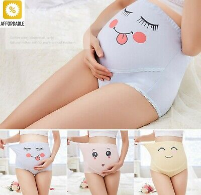 Maternity Underwear High Waist Belly Support Pregnant Women Panties Breathable