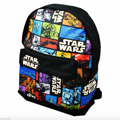 Star Wars Official Childrens/Kids The Force Awakens Character Backpack Large
