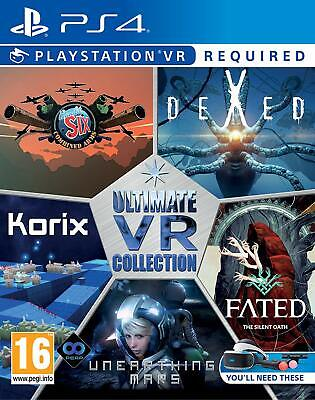 The Ultimate VR Collection - 5 Great Games on One Disk (PSVR/PS4) NEW SEALED