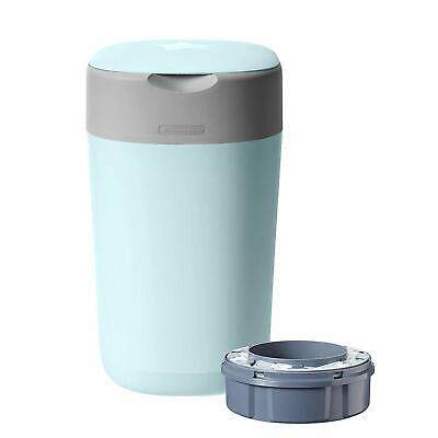 Tommee Tippee Twist and Click Advanced Nappy Disposal Sangenic Bin, Blue