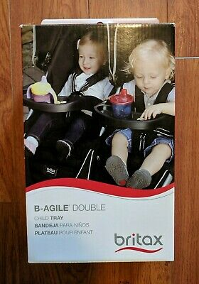 Britax B-Agile (1) Child Tray for Double Stroller Black S910000 Part NEW
