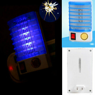 Home Insecto Zapper LED Socket Electric Luz de noche Lampara mata mosquitos