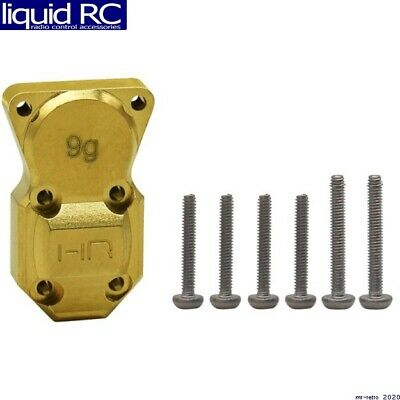 Hot Racing SXTF12CH 9g Brass Diff Cover SCX24