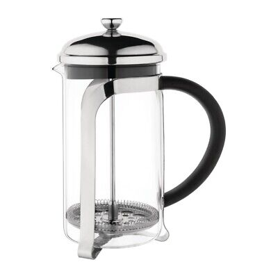 Olympia Traditional Glass Cafetiere 8 Cup [K989]