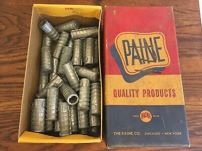 """The Paine Co. 1/2"""" HD Lag Screw Shields (Partial Box 40) 2"""" Long No. 9820S USA"""